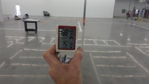 Brad Sullivan of Sullivan & Son Carpet Inc is one of only two licensed concrete moisture testers in the state of CT.  Moisture in concrete is a major issue in the flooring industry. Flooring contractors and installers need to know whether a slab is dry enough to receive a moisture sensitive floor